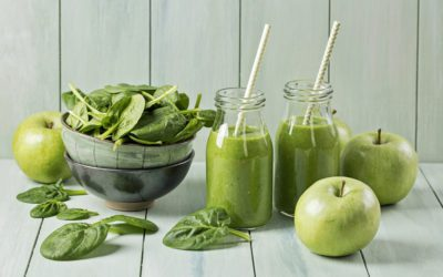 On-the-Go Snacks | Green Apple Smoothie | Earthotic